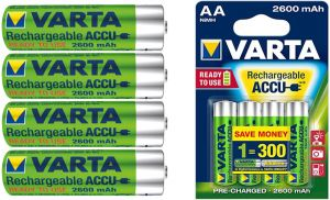VARTA R6 AA READY2USE 2600 MAH AKUMULATORKI